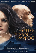 House Of Sand And Fog DVD Case