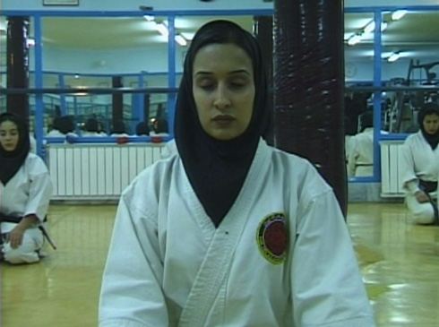 Over 63,000 Iranian women now practice martial arts.