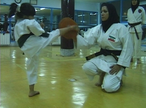 Many girls start karate at a young age thus assuring the next generation of female martial arts practitioners.