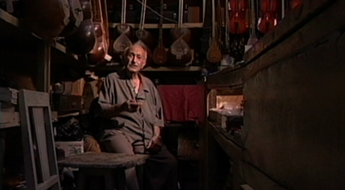 A Jewish shopkeeper carries on the tradition of Persian music and claims to be the best Tar repairman in all of Iran.