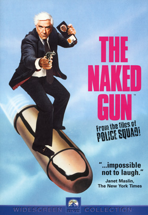 The Naked Gun: From the Files of Police Squad! DVD Case