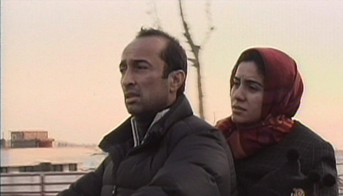 The third vignette, which takes place almost entirely on a moving motorbike, is the most consequential of all the film's discussions. The husband in this instance wants his wife to go ahead with her pregnancy in hopes of having a son to join their daughter for a 'perfect pair.' The wife wants an abortion due to her concerns that they can't afford a proper upbringing for the child.
