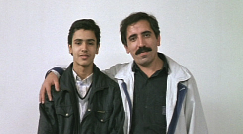 The Director Makhmalbaf finds the actor to portray 'Young Makhmalbaf.'