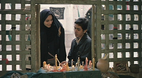 'Young Makhmalbaf's' cousin agrees to appear in the movie.