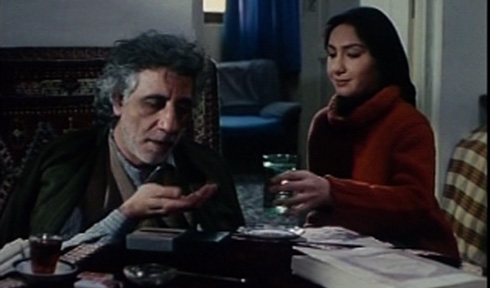 Saloumeh (Haniyeh Tavasoli), the title character of the second act, cares for her semi-blind father who is well respected in the neighborhood. She hopes to gain his blessing for marrying Ebi. Ebi is hesitant to propose because he fears his current economic situation is insufficient to provide for a family.