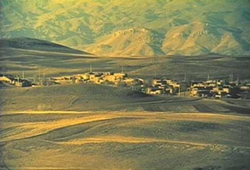 Ahmangol's new village.