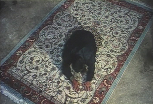 The buyer deems the carpet that the girls have been working on worthless.