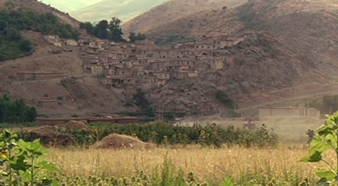 The remote village would look familiar to anyone previously exposed to Kiarostami's work.